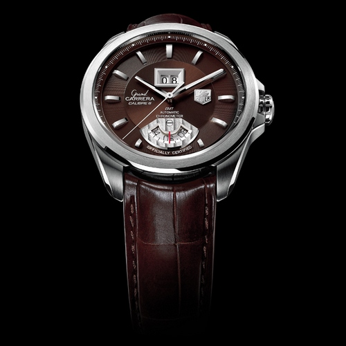 Tag Heuer Grande Carrera Date Gmt Replica With Top Quality