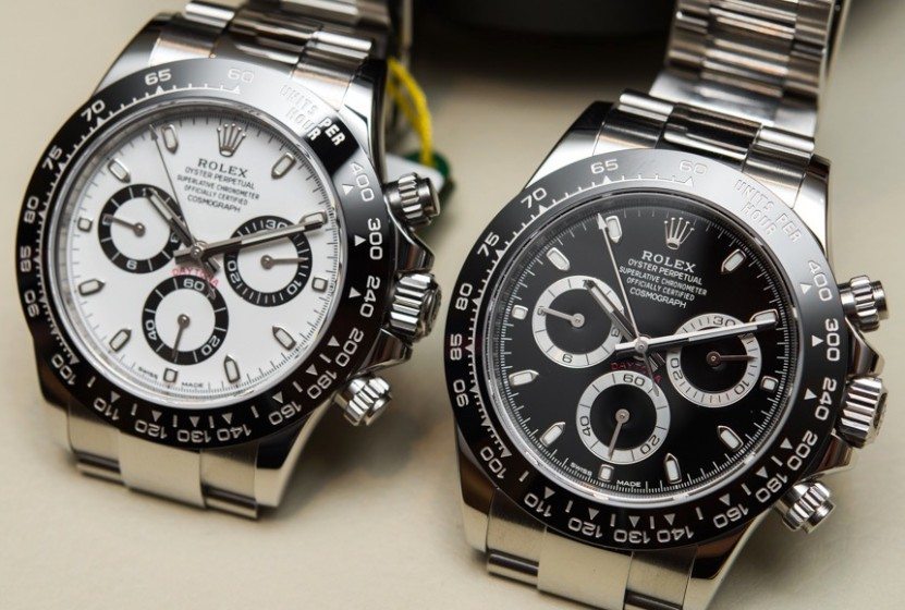 186d9cefd3d Hands On Luxury Rolex Cosmograph Daytona Replica Watches With High ...