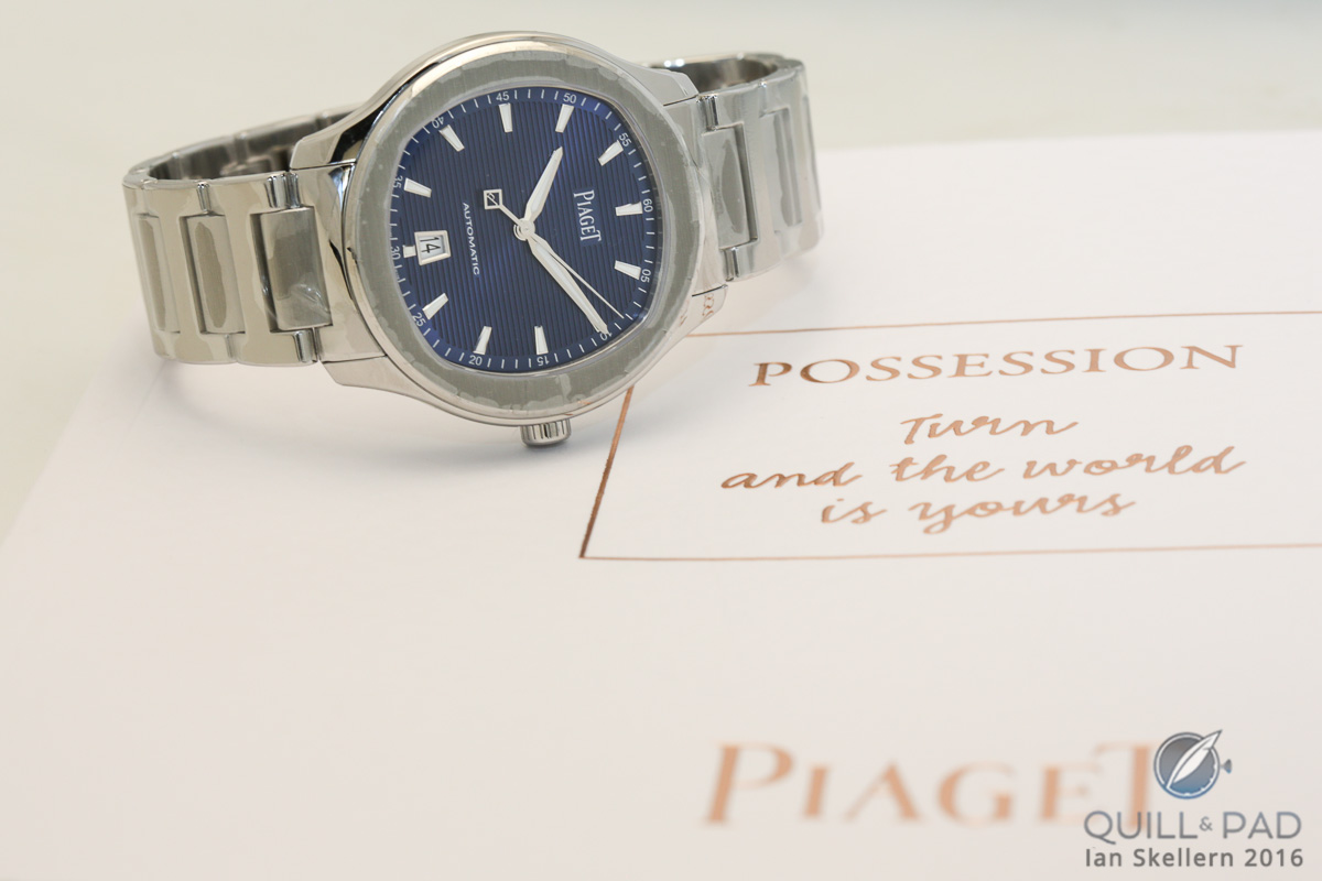 Piaget Polo S blue dial