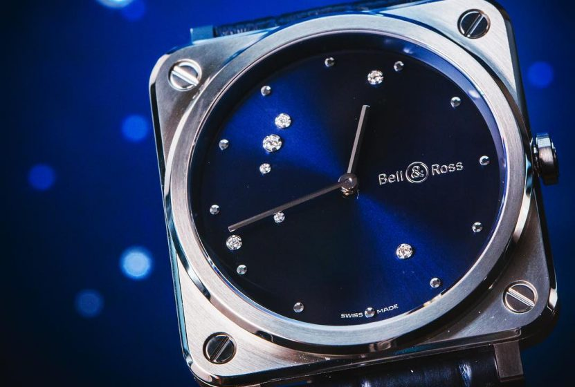 Accompany With Shining Stars: UK Bell & Ross BR S Diamonds Eagle Copy Watches